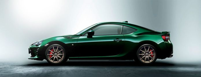 Toyota Gt86 British Green 1
