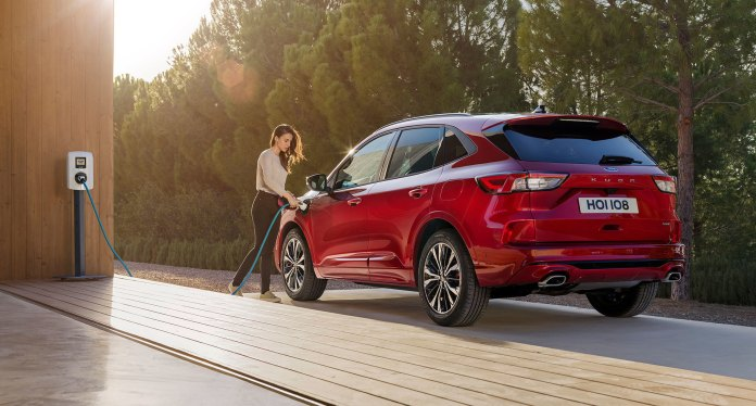 Ford Kuga 2019 Hibrido Enchufable
