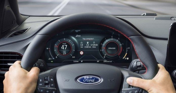 Ford Puma 2019 Interior 02