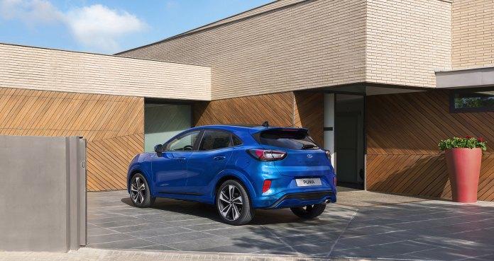 Ford Puma St Line Azul 2019 10