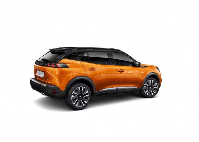 Peugeot 2008 Exterior Naranja 2019 01