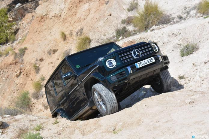 Mercedes Clase G Ascenso  02