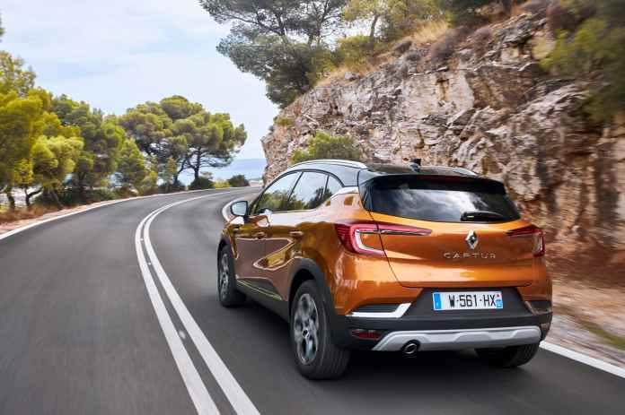 Renault Captur Naranja Exterior Dinamica 00013