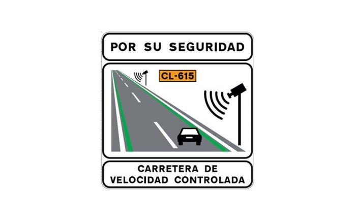 Dgt Lineas Verdes Carretera Senal