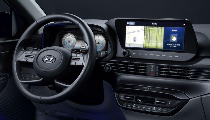 Interior Hyundai I10 Detalle
