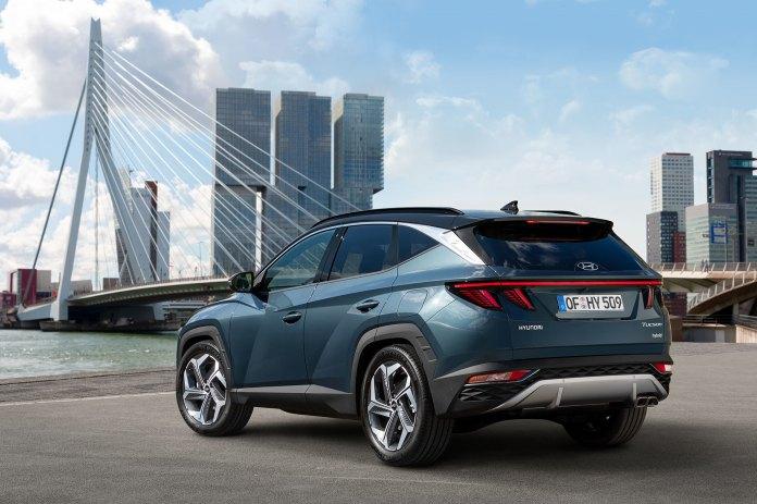 Hyundai Tucson 2021 Exterior 02