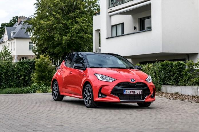 Toyota Yaris 2020 Prueba Rojo 05