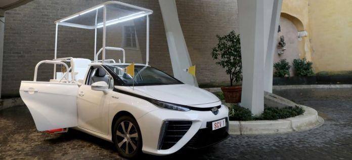 Papamovil Toyota Mirai Hidrogeno Portada thumbnail
