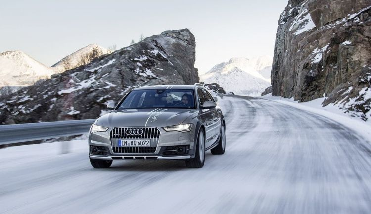 #huntingthelight With Matrix Led Technology In The Audi A6 Allro