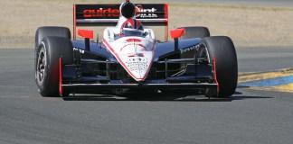 Helio Castroneves durante o Practice 1 no Infineon Raceway (Foto RICHARD DOWDY/IRL)