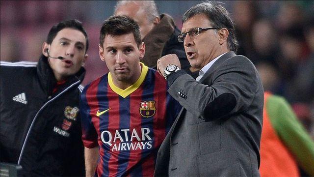 El Tata Martino desmintió haber tenido problemas con Messi - Diario  Panorama Movil