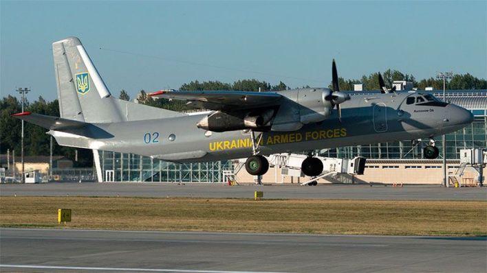 Un Antonov An-26 de la fuerza aérea ucraniana despegando. Foto: Jetphotos.com