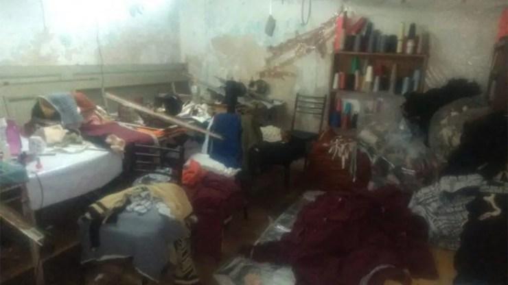 Pompeya: Clausuraron un taller textil clandestino.