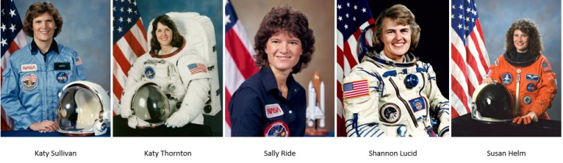 Personalidades femininas que ocupam cargos notáveis e fizeram história na exploração do universo recebem turistas no Centro de Visitantes da NASA