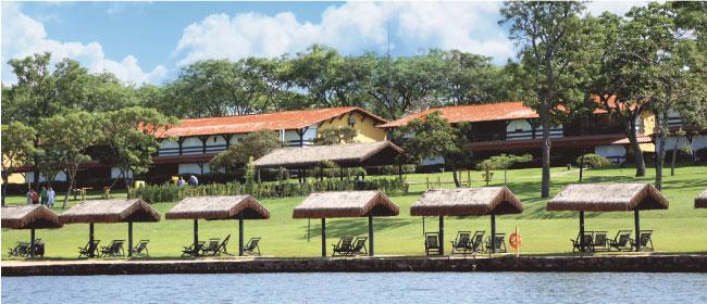 No Broa Golf Resort, em Itirapina, hóspede desfruta atividades refrescantes sem o sufoco do litoral lotado