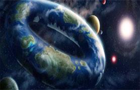 Nem redondo e nem plano: tecnicamente é possível haver um planeta rosquinha