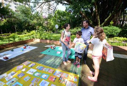 Em São Bernardo, público infantil lota a 3ª edição da Feira de Troca de Brinquedos