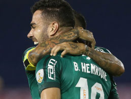 Bruno Henrique brilha, e Palmeiras vence na Colômbia