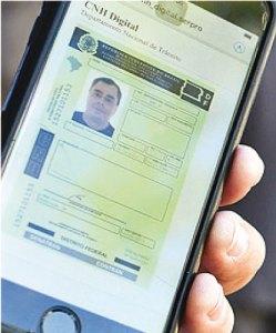 S.Paulo lança versão de carteira de habilitação para o celular