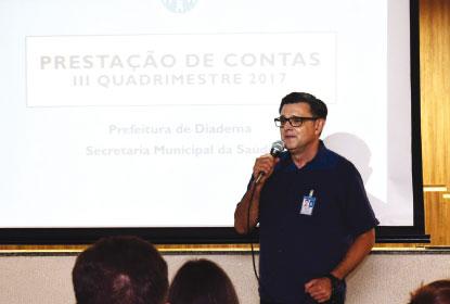 Saúde de Diadema é premiada em programa do governo federal