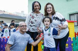 Destaque em Educação Inclusiva, EMI Fernando Piva é revitalizada em São Caetano