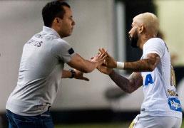 Com show de Gabriel, Santos goleia o Luverdense
