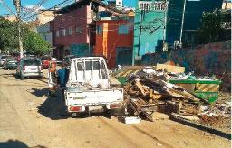 Semasa multa empresa por descarte irregular de resíduos no Capuava