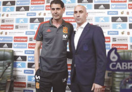 Espanha demite treinador que reergueu seleção para a Copa
