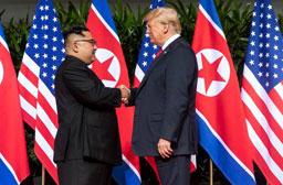 Delegações de Estados Unidos e Coreia do Norte fazem reunião ampliada