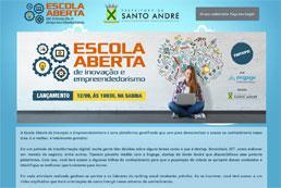 Santo André lança Escola Aberta de Inovação e Empreendedorismo