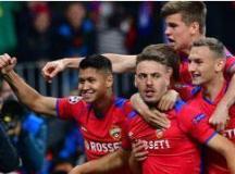 Vlasic comemora o gol do time russo em Moscou. Foto: Reprodução/Uefa