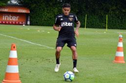Everton treina e pode reforçar o São Paulo