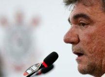 Presidente não banca permanência de técnico do Corinthians