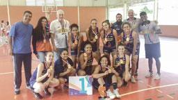 No basquete, São Bernardo derrotou Osasco na decisão. Foto: Divulgação