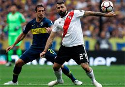 Boca e River empatam em primeiro jogo da decisão da Libertadores