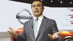 Ghosn salvou a Nissan da falência no início dos anos 2000. Foto: Arquivo