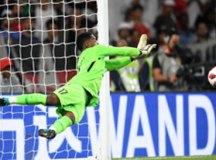 Khalid Essa pega pênalti de Pérez e garante a classificação do Al Ain à final. Foto: Reprodução/Fifa