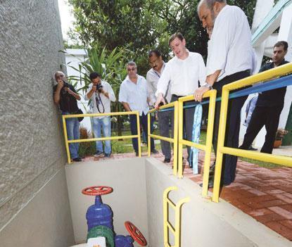 São Bernardo conta com primeira mini-hidrelétrica  do país