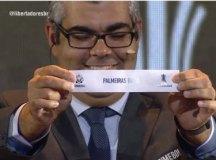 Palmeiras caiu no Grupo F, com San Loreno, Junior Barranquilla e classificado da fase preliminar. Foto:Reprodução/Conmebol