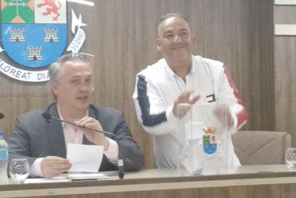 Pretinho do Água Santa diz que  continuará trabalho de Marcos Michels e que está preparado para assumir o Paço