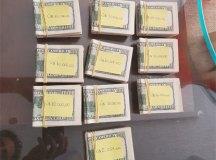 Dinheiro encontrado na residência de empresário. Foto: Divulgação/PF