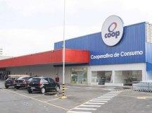 Coop possui 31 unidades de distribuição, das quais 23 localizadas no ABC. Foto: Divulgação/Coop