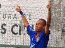 Marcus Vinicius fez três na vitória sobre o Sergipe. Foto: Fabrício Cortinove/AD São Caetano