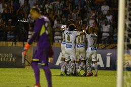 Com golaço de estreante e brilho de Jean Mota, Santos faz 4 no São Bento