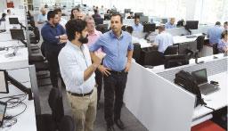 Michels visita primeiras empresas a aderir ao programa municipal de desenvolvimento