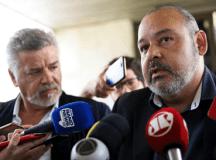 Wagnão e Freitas disseram ao vice-presidente que não aceitarão um reforma que retire direitos dos trabalhadores. Foto: Divulgação/CUT