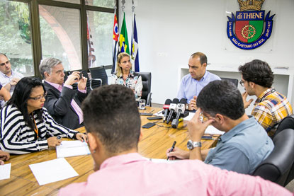 S.Caetano  anuncia ações de amparo às vítimas da enchente