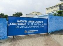 Imóvel situado na Avenida Humberto de Alencar Castelo Branco dará lugar ao projeto Tenda Cultural. Foto: Omar Matsumoto/PMSBC