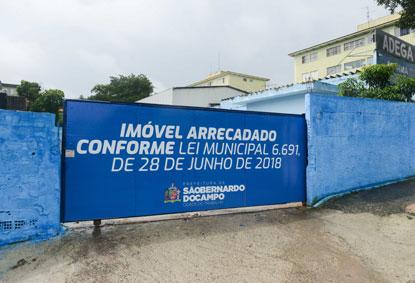 São Bernardo toma posse de terreno e vai transformá-lo em equipamento culturalSão Bernardo toma posse de terreno e vai transformá-lo em equipamento cultural