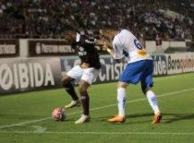 O São Caetano voltou a perder, desta vez na Arena da Fonte. Foto: Reprodução/AFE